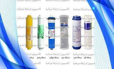 فروش انواع فیلتر دستگاه تصفیه آب خانگی