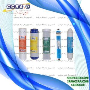 انواع فیلترهای دستگاه تصفیه آب