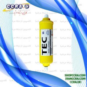 فیلتر پست کربن تصفیه آب برند تک TEC